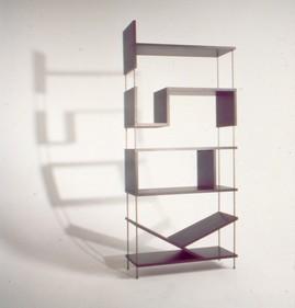 本棚,棚,デザイン,遊び心